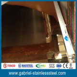hoja de acero inoxidable decorativa del espejo 316L