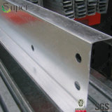 鉄骨構造電流を通されたZチャネルの冷たい形作られた鋼鉄母屋