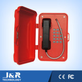 Tunnel-wasserdichtes Telefon, industrielles robustes Telefon, gewinnendes drahtloses Telefon, Tunnel SIP-Telefon