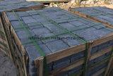 Обрушенные булыжник и кубик базальта андезита серые для ландшафта