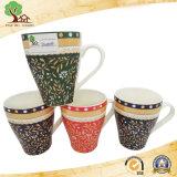 Taza de café de cerámica de la etiqueta del nuevo diseño de Yuanmei