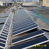 réverbère solaire de montage de hauteur de 6-7.5m pour le parking de véhicule