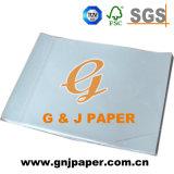 Papier d'imprimerie de transfert de sublimation sur le transfert de tissu de coton