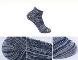 Antibakterielle Streifen-Baumwollsocken mit silberner Faser für Männer