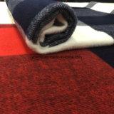 Ткань шерстей двойных проверок щетки
