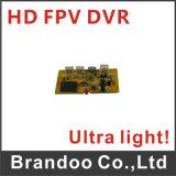 Módulo de Fpv DVR da língua francesa, cartão de 32GB TF usados, tamanho ultra claro e pequeno