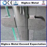 Edelstahl-Handlauf-passende Glasschelle für Treppenhaus-Treppen-Geländer