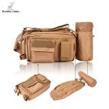 Outdoor Multifuncional Resistente à água Sided Cintura Ombro Carry Strap Armazenamento Cintura Pack Sling Bag Fishing Tackle Bag