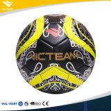 Personalizar la venta directa de fútbol de la fábrica negra del balón