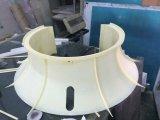 Panneau avant en plastique à usinage CNC pour équipement médical