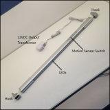 Luz do trilho do cair do diodo emissor de luz Wordrobe do sensor de movimento