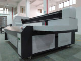 Printer van het Blad van het Aluminium van de Reclame van de hoge snelheid de Stijve Materiële UV Flatbed