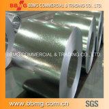 Hdgi/Gi Caliente-Sumergió la hoja de acero galvanizada en bobina/acanaló la hoja del material para techos del metal