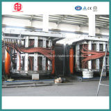 80t Kgps Type hydraulisches Tilting Medium Frequency Induction Melting Furnace