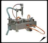 Máquina de rellenar de cristal plástica semi automática para el agua y el vino