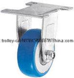 2 Zoll-Feuergebührenblau Belüftung-steifes Fußrollen-Rad