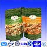 el papel de 250g 500g 1kg Kraft se levanta el bolso para el café