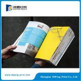 Farben-Zeitschriften-Drucken der Bindung-vier