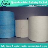 Blaues/weißes elastisches Taillen-Band für Baby-/erwachsene Windel-Rohstoff