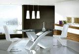 Таблица живущий конструкции мебели комнаты специальной стеклянная обедая (A6033#)