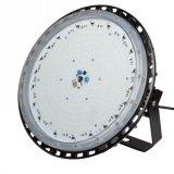 Cubierta IP65 de la luz de la lámpara de la bahía del UFO LED de la aleación de aluminio 200W alta