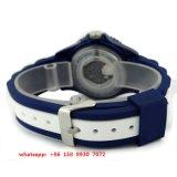 Reloj hermoso del cuarzo con la correa del silicón para los hombres Fs520