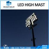 iluminación del mástil del trípode del 18m/20m/30m alta de los deportes del aeropuerto del poste telescópico de la iluminación