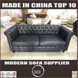 Sede del sofà 123 del cuoio genuino di combinazione della mobilia del Regno Unito