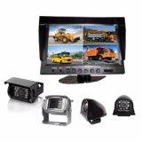 Het Systeem van kabeltelevisie met de Digitale LCD van de Kleur Monitor van de Vierling en Super Brede het Bekijken Camera