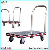 Caminhão de mão modelo de alumínio da plataforma de Treadplate