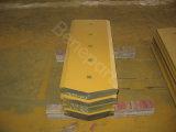 Blader, morceaux d'extrémité, pièces de rechange, double tranchant plat conique du tranchant 109-9081-Rh pour le bouteur