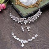 Тиары волос серьги ожерелья Zircon высокого качества для венчания невесты