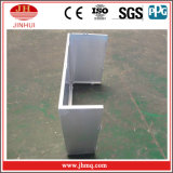 Fachada de alumínio da fonte de uma paragem do projeto para o material de construção