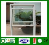 Single Glazing Aluminum Profile Ventana suspendida única con hardware americano