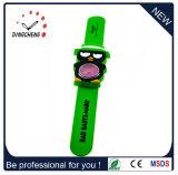 Het nieuwe Horloge van Squartz van de Tik van het Silicone van het Ontwerp voor Jonge geitjes, Timepiece (gelijkstroom-707)