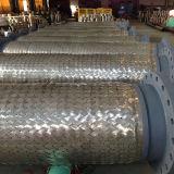 Tuyau de tressage à mailles métalliques en acier inoxydable