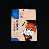 Customzied Alumínio Stand up Zip Lock Pouch / Laminated Upright Plastic Bag for Food Package with Zipper