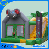 熱いDiversiones Espinoza Inflatable Bouncer 4王女の柱