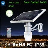 Luz al aire libre accionada solar del jardín de 6W 9W LED