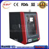 Портативная машина отметки лазера волокна для меди/алюминия/металла/неметаллов