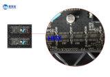 Gabinete do módulo do indicador de diodo emissor de luz da cor P3 cheia para o uso interno que anuncia