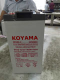 2V 500ah AGM-nachladbare Speicherbatterie für Sonnensystem