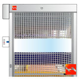 Automatische Hochgeschwindigkeitsrollen-Blendenverschluss-Türen für sauberen Raum