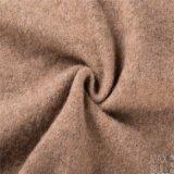 Yark Haar-und Wolle-Gewebe mit gestrickt in hellbraunem