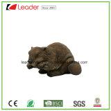 Estatua del ratón del jardín de Polyresin para la decoración del hogar y del césped