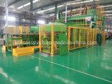 Automático de la azotea del coche Línea de producción de alfombras