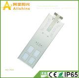 60W novo 3 anos luz de rua do diodo emissor de luz do painel solar da resistência de alta temperatura da garantia de mono