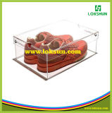 Custom Clear Acrylic Box Shoe Display Cases Perspex Display Cases