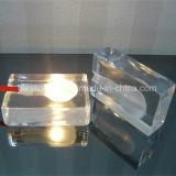 A forma creativa decorou a lâmpada de tabela da iluminação da leitura do cubo de gelo do diodo emissor de luz de Bedhead