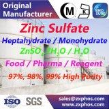 Sulfato de cinc electrónico, grado el reactivo